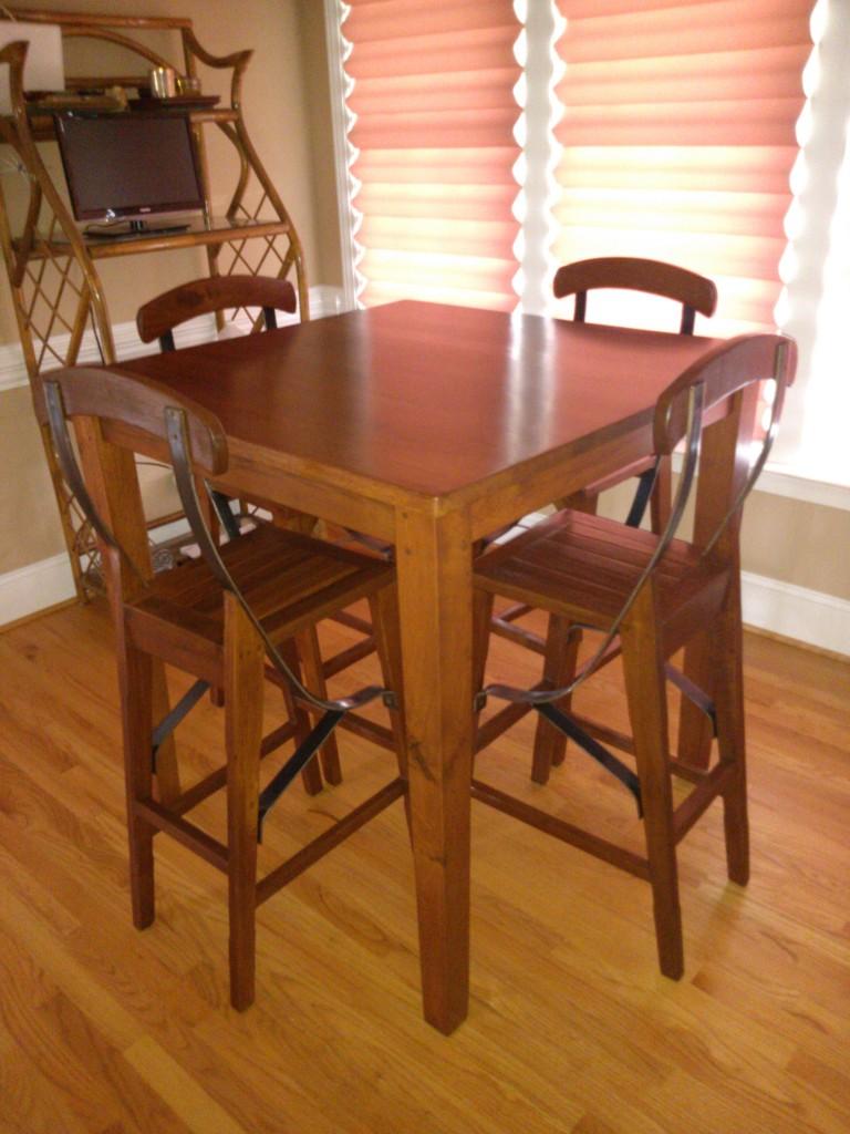Bistro / Pub Table. Reclaimed Oak Bistro Table