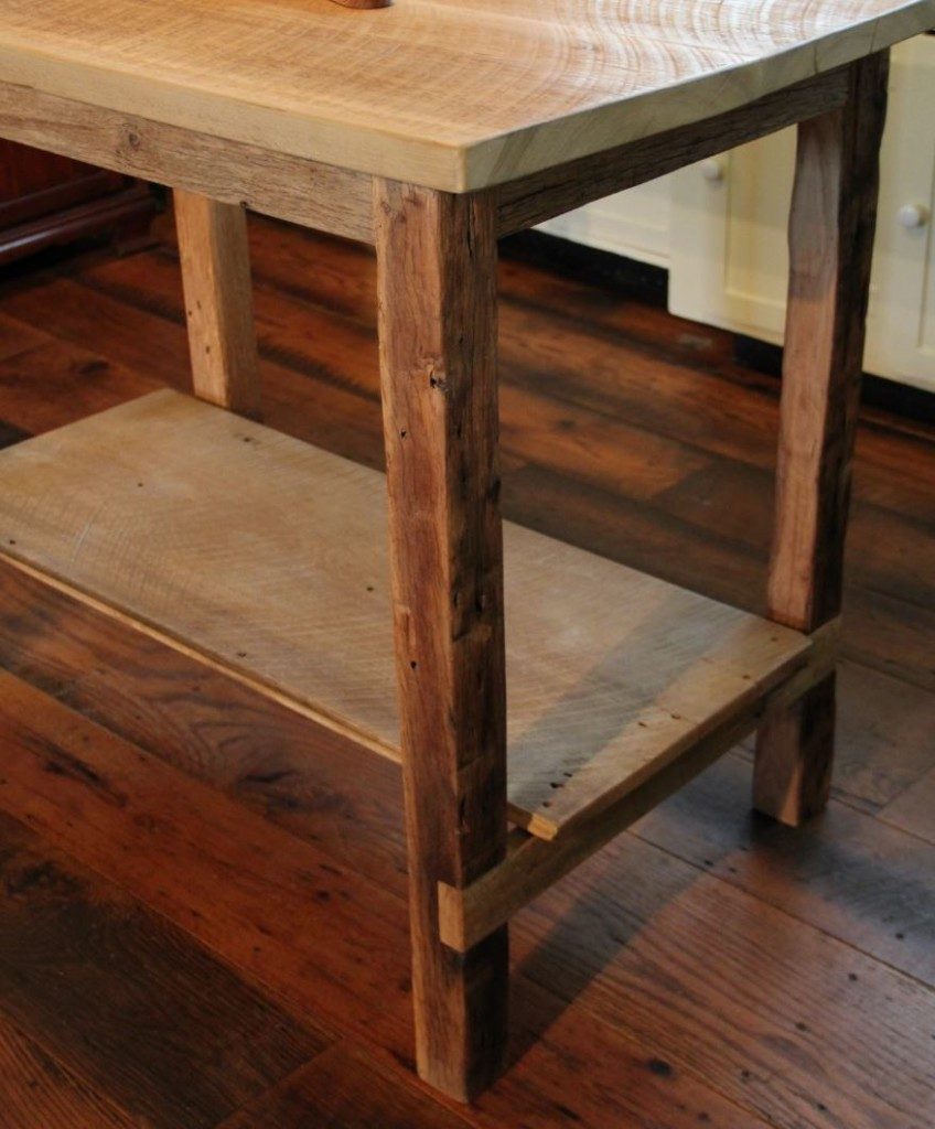 Rustic Kitchen Islands For Sale: Barn Wood Kitchen Island